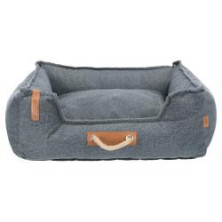 Lit Föhr Soft. 60 x 50 cm .BE NORDIC. gris. pour chien . Dodo Trixie TR-37600