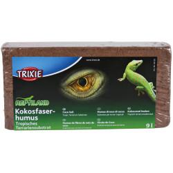 9 Litres de Fibres de noix de coco pour reptiles et amphibiens Accessoire Trixie TR-76153