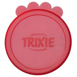 2 tapas de 10,6 cm para latas DOG FOOD OR CAT accesorio alimentario Trixie TR-24552
