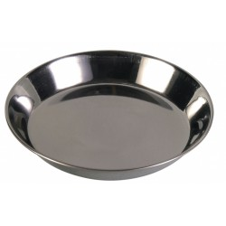 Trixie 0.2 L ø 13 cm écuelle en acier inox pour chat TR-2468 Gamelle, écuelle