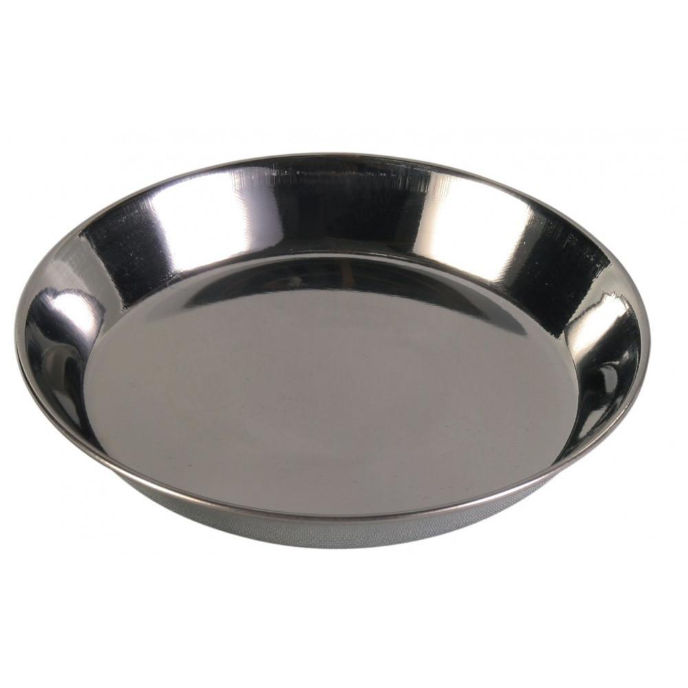 Ecuelle en acier inox 0.2 L pour chat accessoire alimentaire Trixie TR-2468
