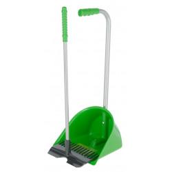 kerbl Mistboy Mini Ramasse déjections H 60 cm idéale pour les enfants . vert Chevaux
