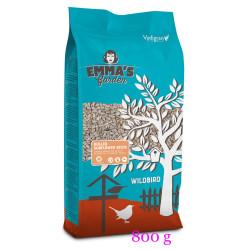 Graines de tournesol pelées pour oiseaux. sachet de 800 grammes Nourriture emma's garden VA-419010