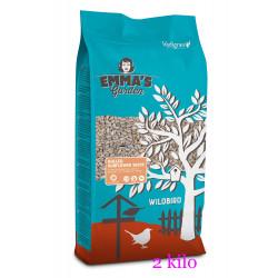 emma's garden Peeled sunflower seeds for birds. 2 kg bag. Nourriture graine