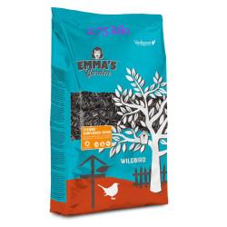 emma's garden Gestreifte Sonnenblumenkerne für Vögel. 700-Gramm-Beutel. VA-418050 Essen und Trinken
