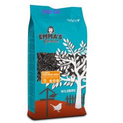 VA-418010 emma's garden Semillas de girasol rayadas para pájaros. Bolsa de 700 gramos. Comida y bebida