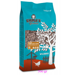 emma's garden VA-417010 black sunflower seeds for birds. sachet 700 gr. Food and drink