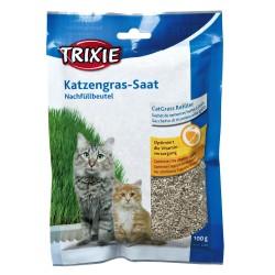 TR-4233 Trixie Herbe à chat tendre 100 gr. graine à faire pousser. Hierba gatera