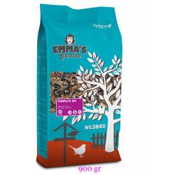 emma's garden Mélange complet de graines pour oiseaux de la nature. sachet de 900 gr VA-415010 Nourriture
