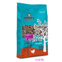 Mélange complet de graines pour oiseaux de la nature. sachet de 2.25 kilo Nourriture emma's garden VA-415020