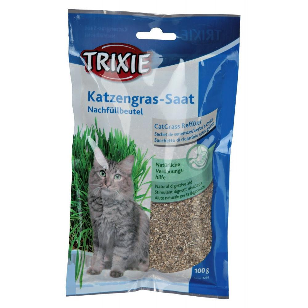 Herbe à chat orges Nourriture Trixie TR-4236