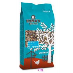 Mélanges de graines hiver pour oiseaux de la nature. sachet de 1 kg Nourriture emma's garden VA-400010