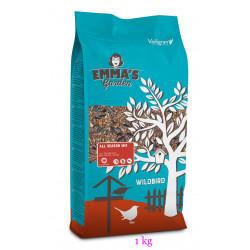 Mélange de graines pour oiseaux de la nature. toutes saisons. 1 kg. Nourriture emma's garden VA-399010