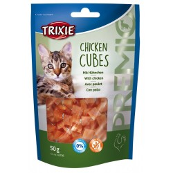 Trixie TR-42706 Chicken cubes 50 gr for cats Nourriture