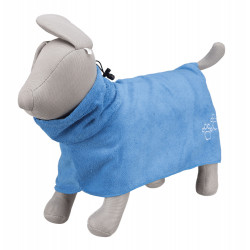 Trixie Peignoir en microfibre bleu. pour chien de XS. TR-23481 Soin et hygiène