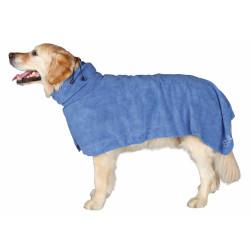 Trixie Peignoir en microfibre bleu. pour chien. taille L. TR-23484 Soin et hygiène