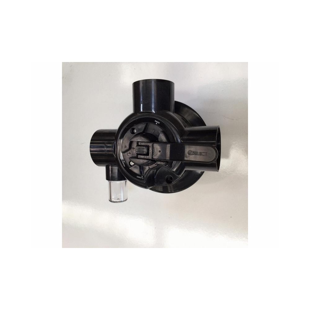 VANNE 4 VOIES FILTRATION POOLSTYLE vanne filtre a sable poolstyle SC-EMX-051-0058