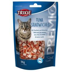 broodjes tonijn 50 gr voor katten Trixie TR-42731 Kattenkuur