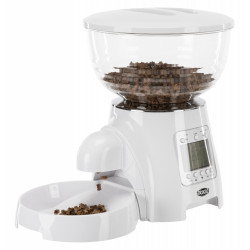 Trixie TR-24336 Automatic kibble dispenser TX7 . 5 Liters. for dog or cat. Water dispenser, food