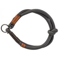 Trixie Traktionsverminderungshalsband für Hunde. Größe S-M. ø 40 cm. BE NORDIC dunkelgrau. TR-17261 Halskette