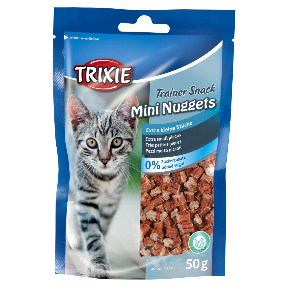 Trixie Snack Mini Nuggets 50 gr pour chat TR-42741 Friandise chat