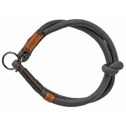 Trixie Traktionsverminderungshalsband für Hunde. Größe L. ø 50 cm. BE NORDIC dunkelgrau TR-17281 Halskette