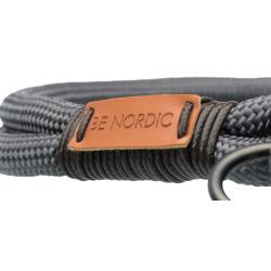 Necklace semi strangler BE NORDIC dark grey Trixie necklace TR-17261D
