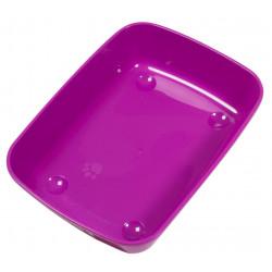 Vadigran Violettes Katzenklo 50 x 36,5 x 1,5 cm. für Katzen. VA-1652 Abfallbehälter