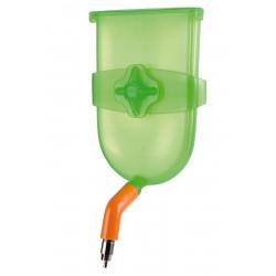 Vadigran biberon plastique BIBBER 400 ml. couleur vert. pour rongeur. VA-15001 Gamelles, distributeurs