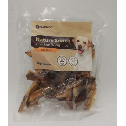 Snack nature Ailes de poulet 100 gr. pour chien Friandise chien  Flamingo FL-519612