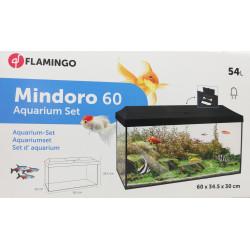 Flamingo Set d'aquarium Mindoro 60 cm 54 Litres . 60 x 34.5 x 30 cm. FL-1032773 Aquariums