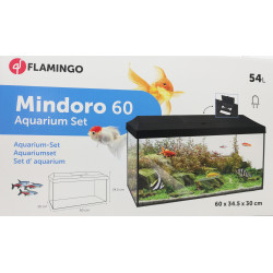 Flamingo Pet Products Set d'aquarium Mindoro 60 cm 54 Litres . 60 x 34.5 x 30 cm. Aquariums
