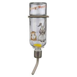 TR-60446 Trixie Biberón de cristal de 250 ML de Miel & Tolva para animales Tazones, distribuidores