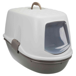 Trixie TR-40162 Grey and white Berto townhouse. 39 × 42 × 59 cm. for cat Toilet house