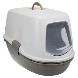 Trixie Maison de toilette Berto top. grise et blanche. 39 × 42 × 59 cm. pour chat TR-40162 Maison de toilette