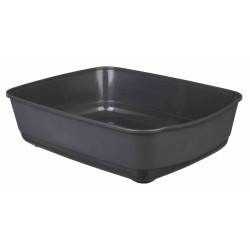 Trixie TR-40301 Litter tray Classic, colour petrol blue, size 36 by 46 and 12 cm H for cats Litter boxes