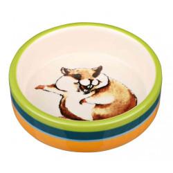 TR-60801 Trixie Cuenco de cerámica. 80 ml ø 8 cm. para roedores. Tazones, distribuidores