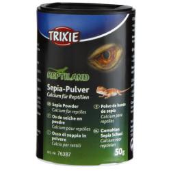 Trixie Os de seiche en poudre 50 gr - Calcium pour reptile TR-76387 Essen und Trinken