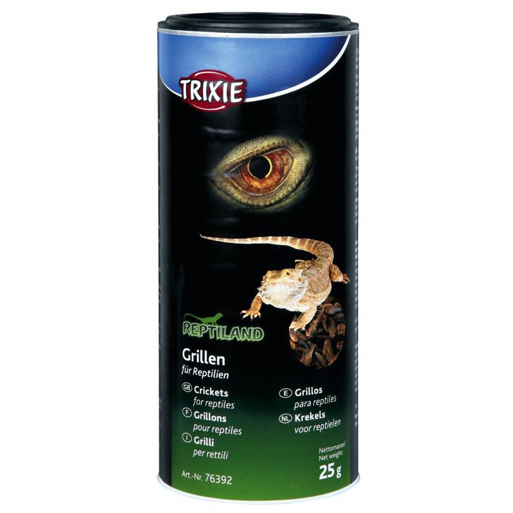 Grillons séchés 25 gr pour reptiles Nourriture Trixie TR-76392