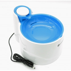 Flamingo Pet Products Wasserkühler BELLAGIO 2 Liter. für Hunde und Katzen. Farbe blau. FL-518217 Springbrunnen