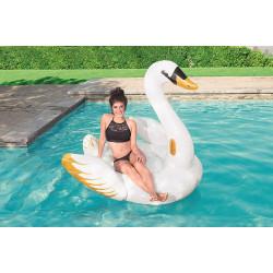 Bestway Cygne de luxe gonflable - dimension 171 x 147 x 145 cm. bouée gonflable. Jeux d'eau