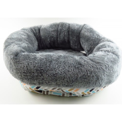 Flamingo Pet Products Round basket CLAVIO. ø 35 x 12 cm. for rodents. Beds, hammocks, nesters
