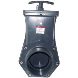 Cepex FLU-43577 ø90 mm, PVC Knife gate valve. Valve
