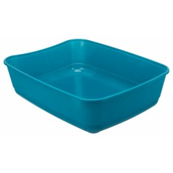 Trixie TR-40306 Litter tray Classic, colour petrol blue, size 36 by 46 and 12 cm H for cats Litter boxes