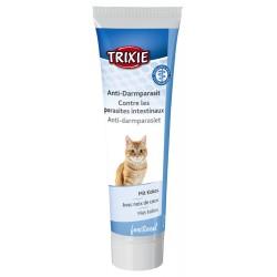 TR-42148 Trixie Pâte Contre les parasites intestinaux du chat, 100 gr. complément alimentaire