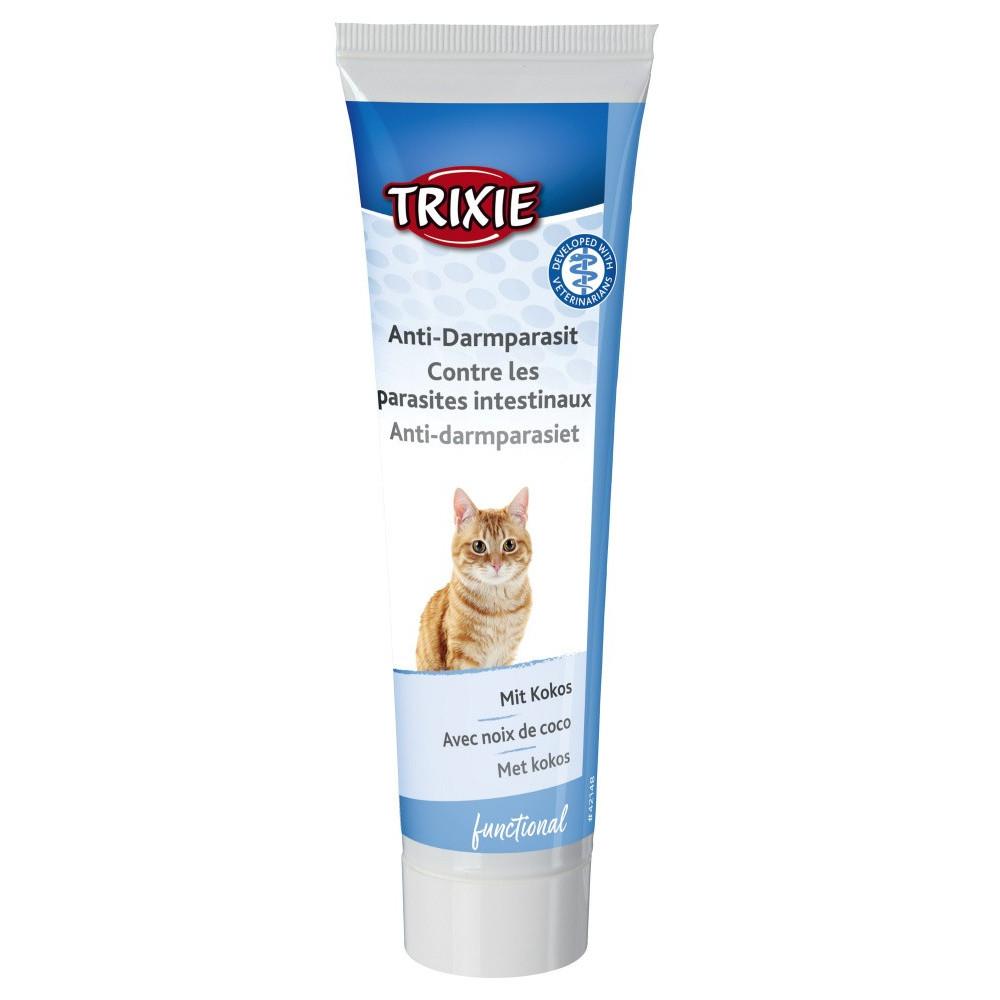 pâte Contre les parasites intestinaux 100 gr pour chats Nourriture Trixie TR-42148