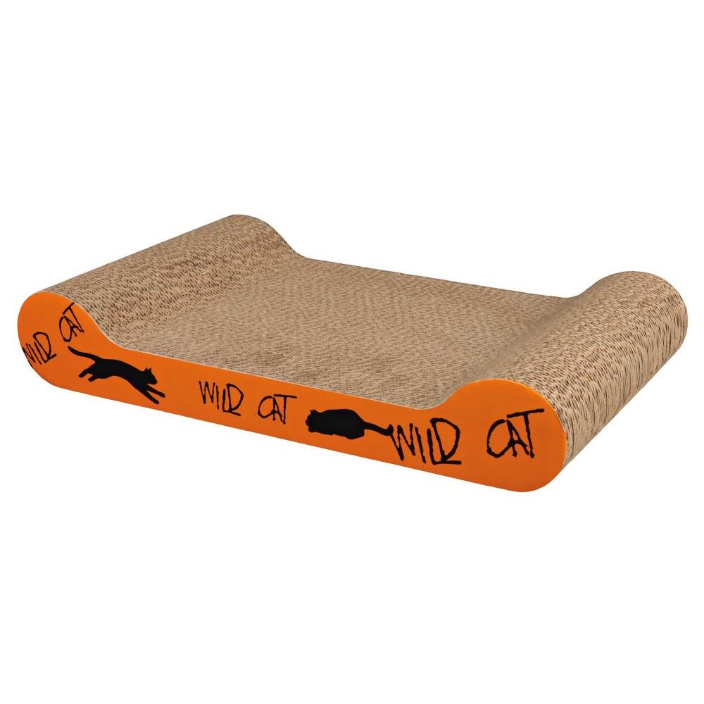 Plaque griffoir Wild en carton pour chat Griffoirs et grattoir Trixie TR-48000