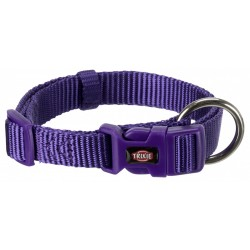 Trixie TR-202221 Premium collar size S . purple color. for dog. Necklace