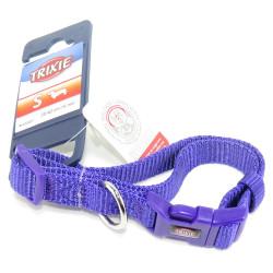 Trixie TR-202221 Premium collar size S . purple color. for dog. Necklace
