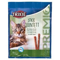 Trixie 5 Stäbchen Huhn- und Leberbehandlung für Katzen. TR-42724 Süßigkeiten
